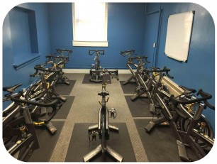 Indoor Cycle Room Rounded Corners