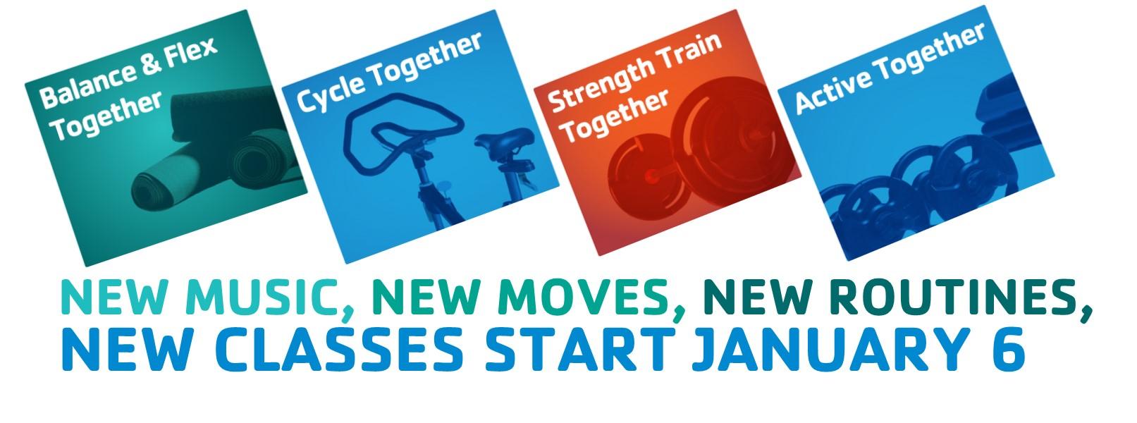 New Group X Classes Jan 6